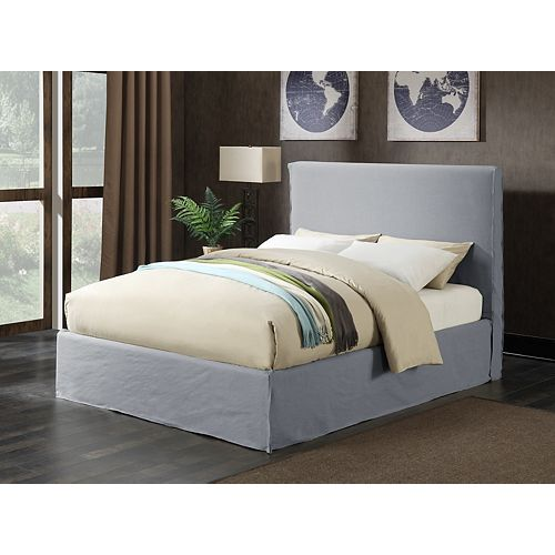 Melina Upholstered Storage Bed, Queen