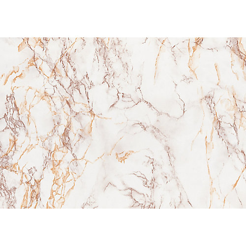 346-8032 Home Decor Self Adhesive Film 26-inch x 78-inch Marble Brown