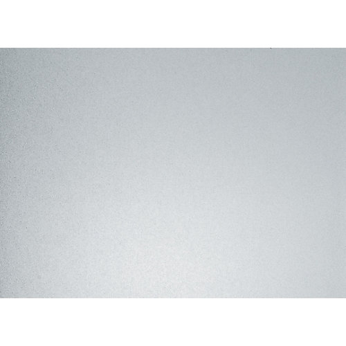 338-8031 Home Decor Static Cling Window Film 26-inch x 59-inch Milky