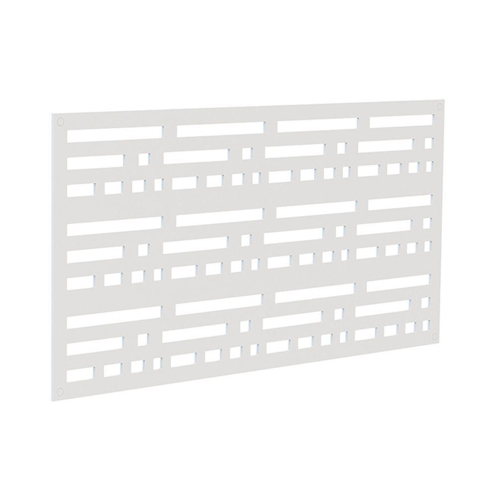 Barrette Decorative screen panel 2x4 - morse - white