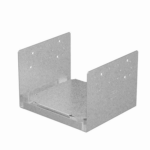 Simpson Strong-Tie ABU ZMAX Galvanized Adjustable Post Base for 10x10 Rough