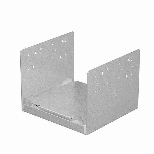 ABU ZMAX Galvanized Adjustable Post Base for 10x10