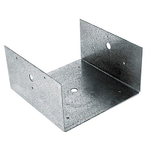 BC Galvanized Post Base for 8x