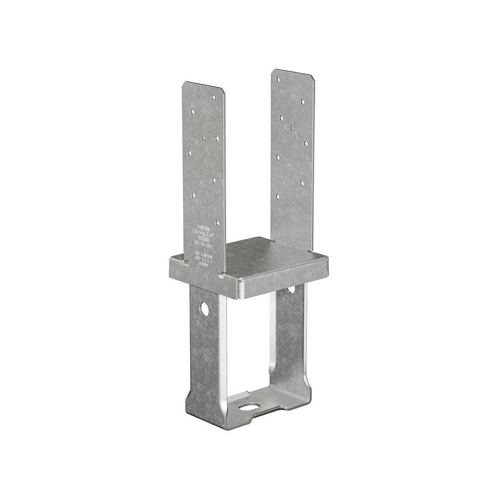 Simpson Strong-Tie CBSQ Galvanized Standoff Column Base for 6x6 with SDS Screws