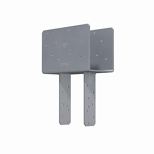 CCQ Column Cap for 5-1/8 inch Beam, 6x Post with Strong-Drive SDS Screws