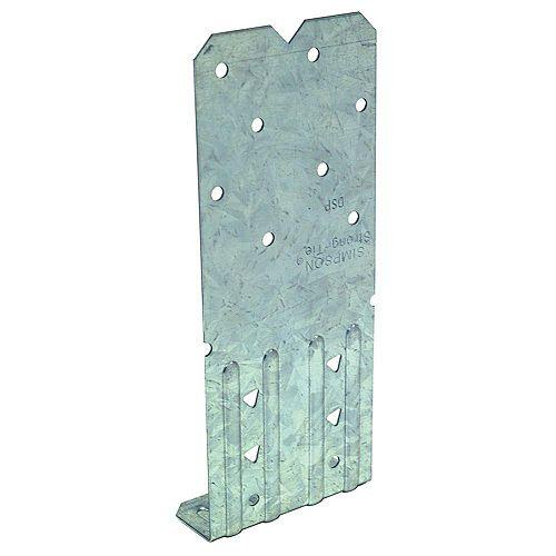 Simpson Strong-Tie Plaque de fixation pour montant double galvanisée DSP de calibre 18