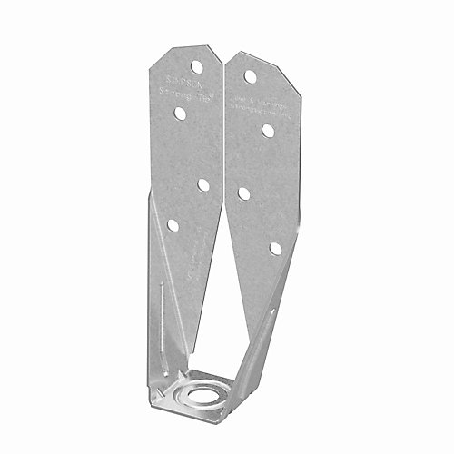 Tirant d'ancrage de terrasse DTT à galvanisation ZMAX pour 2x avec vis SDS de 1-1/2 po