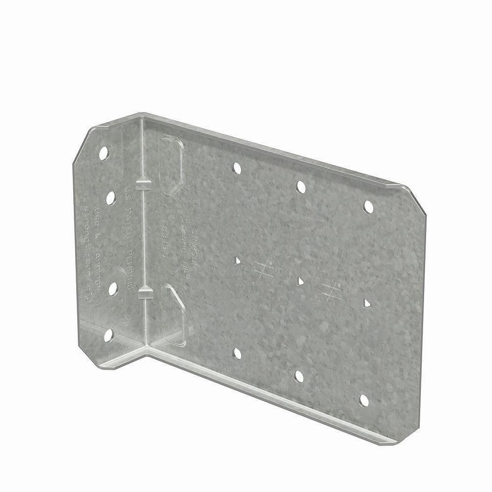 Simpson Strong-Tie Connecteur à pince fixe pour charpente de contournement FCB 5 1/2 po (25 pièces)