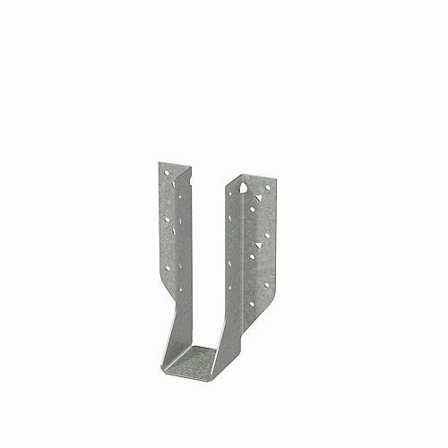 Simpson Strong-Tie Étrier à solive à montage frontal galvanisé HU pour bois d'ingénierie de 1 3/4 po x 7 1/4 po