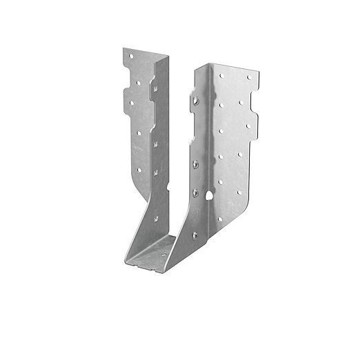 HUS Galvanized Face-Mount Joist Hanger for 2x8