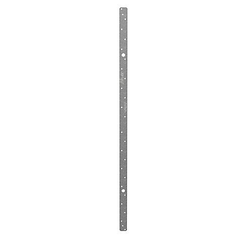 LSTA 1-1/4 inch x 36 inch 18-Gauge Galvanized Strap Tie