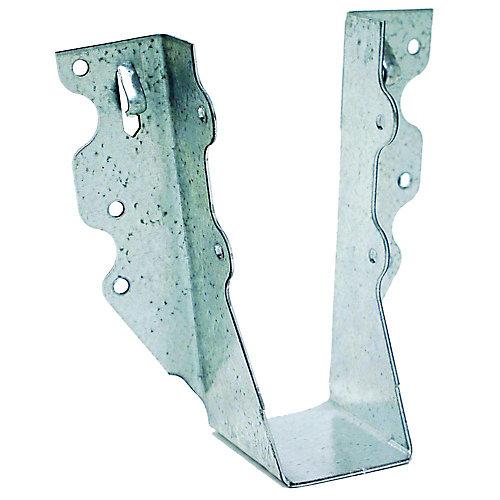 Étrier à solive galvanisé à montage frontal U pour 2x6 brut
