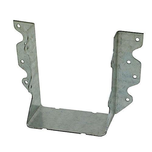 Étrier à solive galvanisé à montage frontal U pour 4x6 brut
