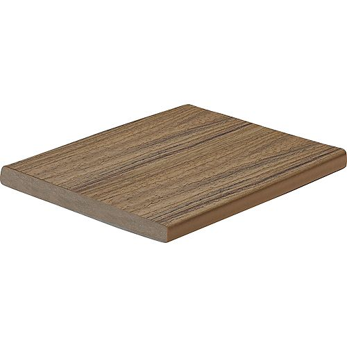 12 Ft. - Enhance Natural Composite Capped Fascia Toasted Sand - 1 In.x 8 In.