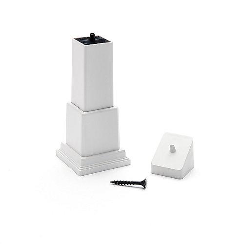 Trex Adjustable Foot Block - White