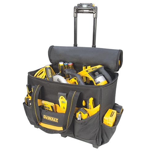 18-inch Lighted Handle Roller Bag