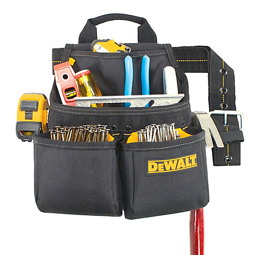 6 Pocket Framer's Nail and Tool Bag