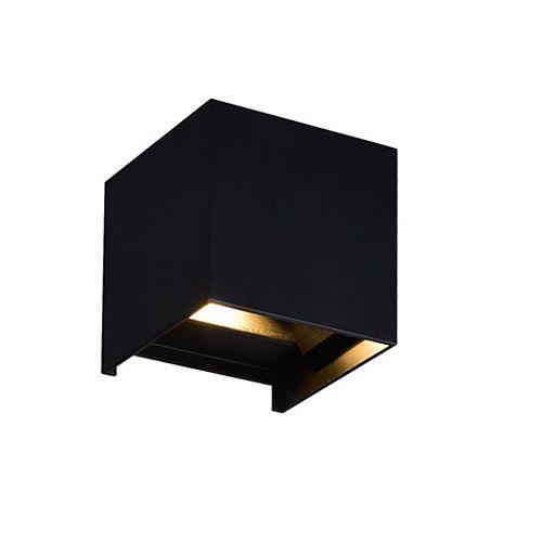 4 inch Lilliana LED Lumière Applique Murale avec Fini Noir