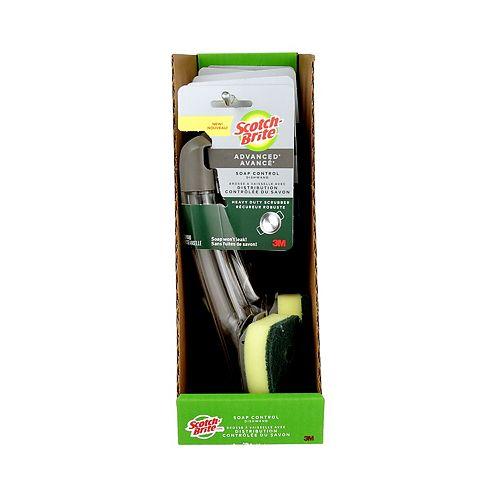 Soap Control Heavy Duty Dishwand 651U-6-RRP, Yellow/Green, 1/Pack