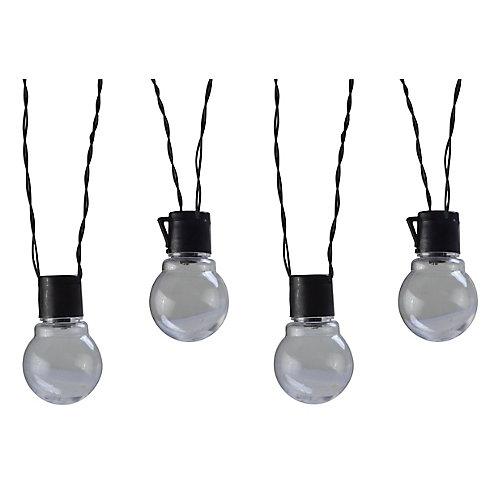Moonrays Solar Powered LED Globe String Lights