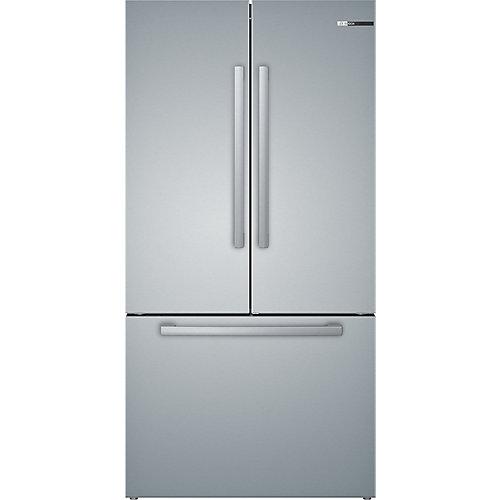 36 inch Freestanding FDBM, Counter Depth, 3 Door, Stainless Steel, interior ice/wtr, 72 inch HC