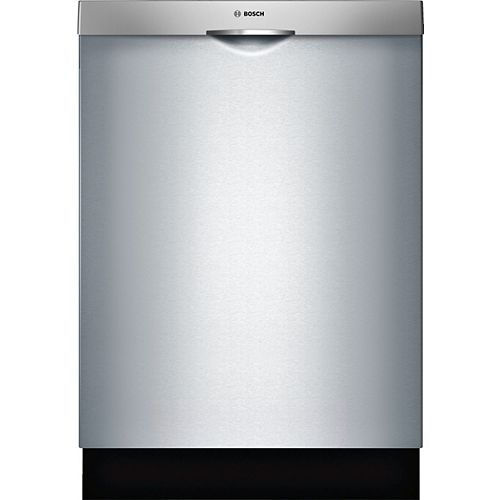100 Series 24-inch Top Control  Dishwasher in Stainless Steel, 3rd Rack, 48dBA, Anti-Fingerprint - ENERGY STAR®