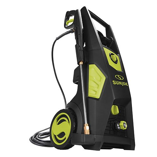 Sun Joe 2300 Max PSI 1.48 GPM Brushless Induction Electric Pressure Washer with Brass Hose Connector