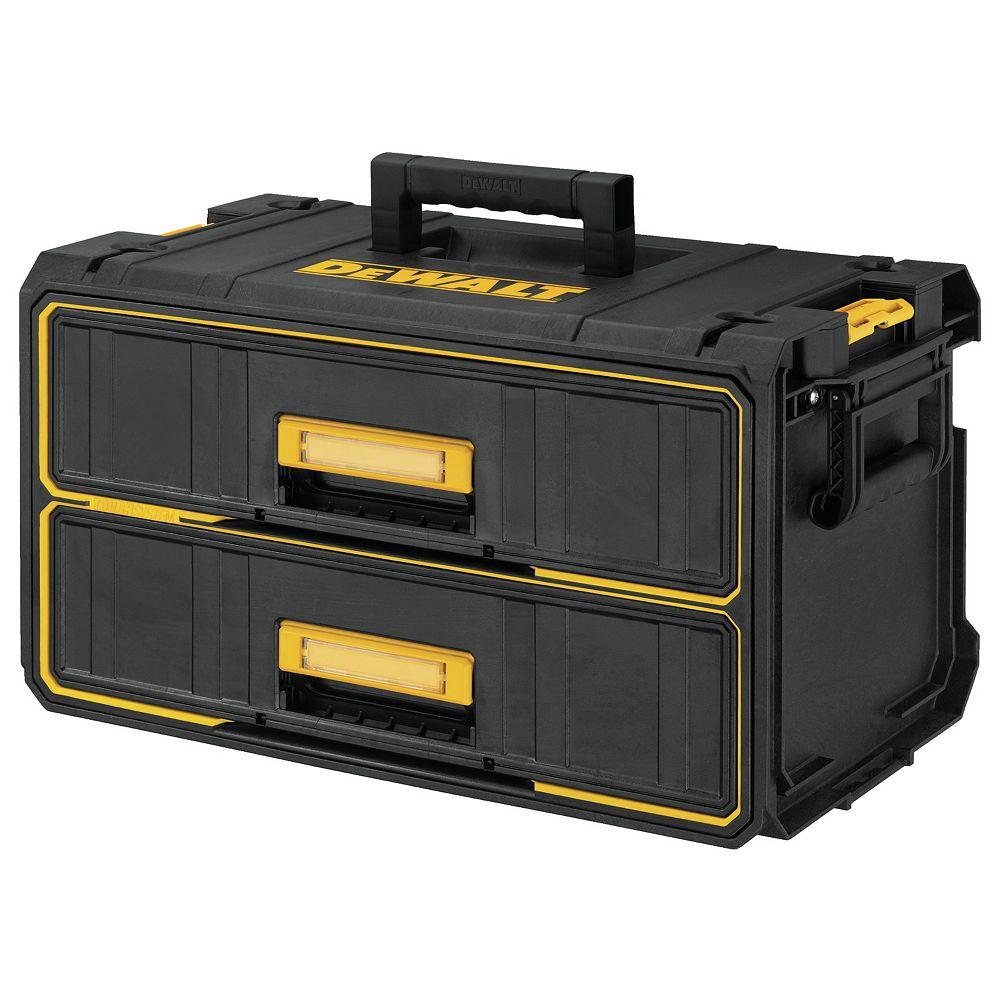 DEWALT ToughSystem 22-inch Water Seal 2-Drawer Tool Box