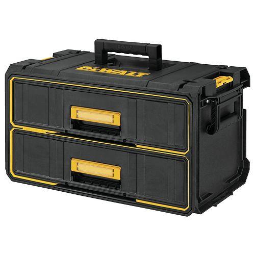 ToughSystem 22-inch Water Seal 2-Drawer Tool Box