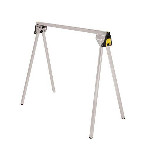 Cheval de scie métallique pliable de 29 pouces