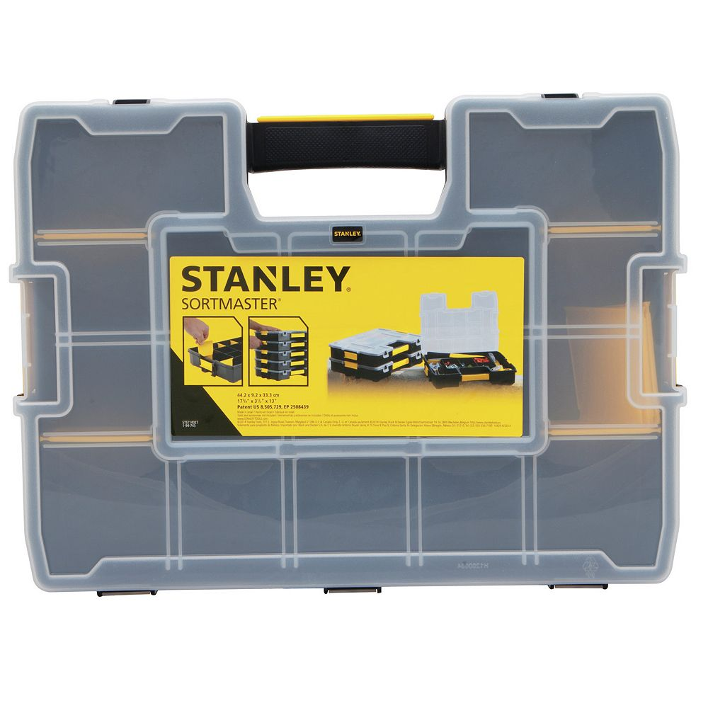 STANLEY SortMaster 15-Compartment Small Parts Organizer