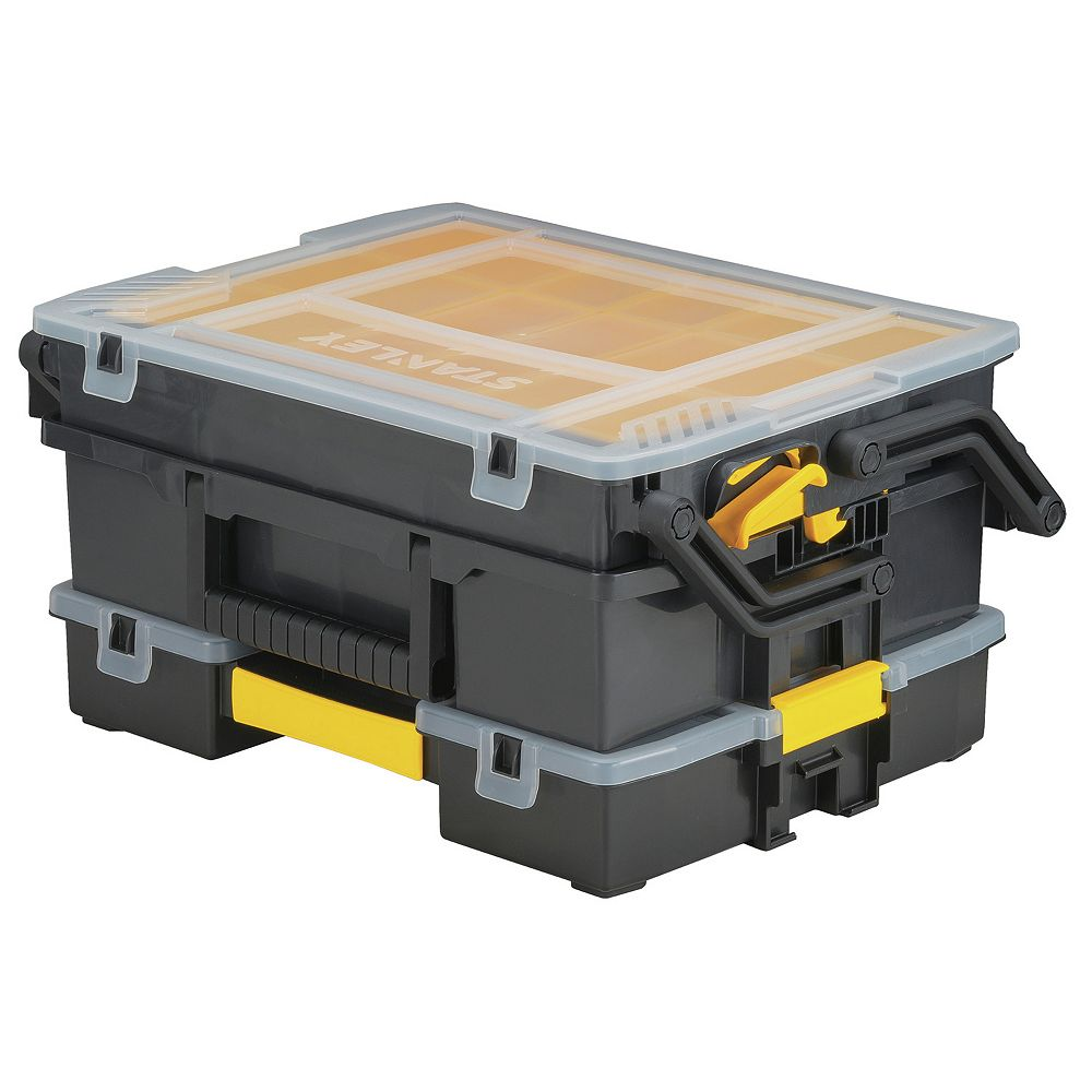 STANLEY SortMaster 23-Compartment Multi-Level Cantilever Small Parts Organizer