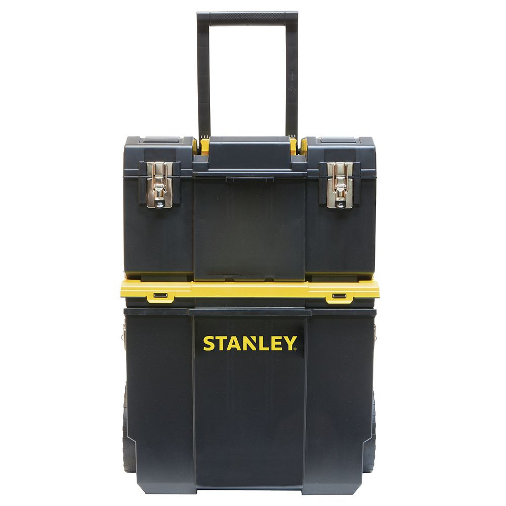 STANLEY 11-inch 3-in-1 Detachable Tool Box Mobile Work Center