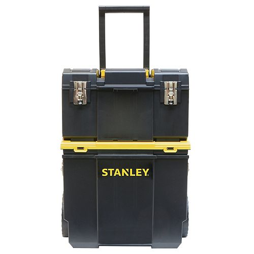 11-inch 3-in-1 Detachable Tool Box Mobile Work Center