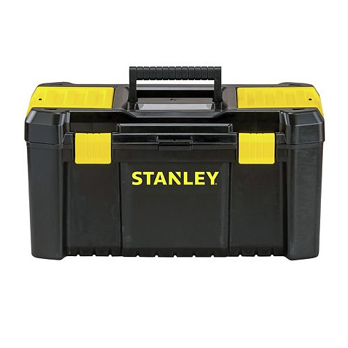 Essential 19-inch Tool Box with Lid Organizers