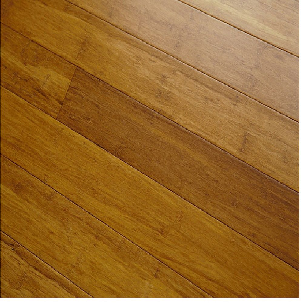 GUOYA Smooth Strand Woven Carbonized 1/2-inch x 3-5/8-inch x 72-13/16-inch Solid Bamboo Flooring (25.65 sq.ft./case)