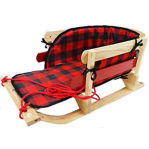 Grizzly Sleigh w/plaid pad - boxed
