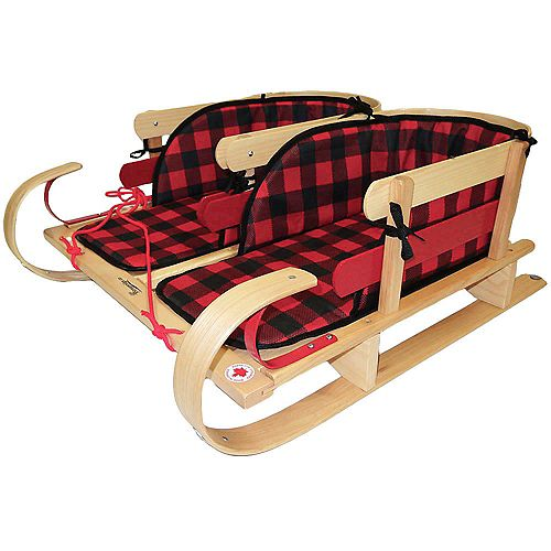 Grizzly Dual Sleigh w/plaid pads - boxed