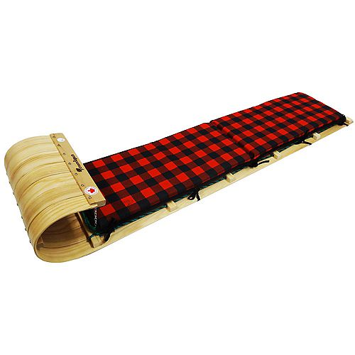 Frontier 6 ft. Toboggan w/plaid pad - boxed