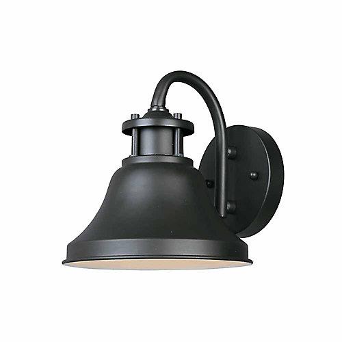 Lanterne murale à 7.75 pouce lampe à incandescence, fini bronze