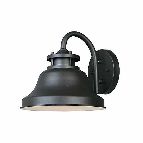 Lanterne murale à 8.5 pouce lampe à incandescence, fini bronze