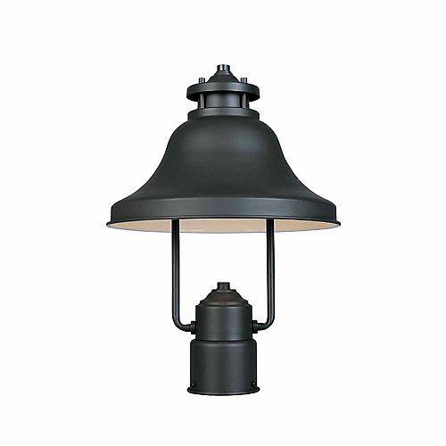 Lanterne de lampadaire extérieur à incandescence, fini bronze