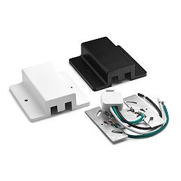 2400-Watt Linear Track Floating Power Feed with White and Black Covers