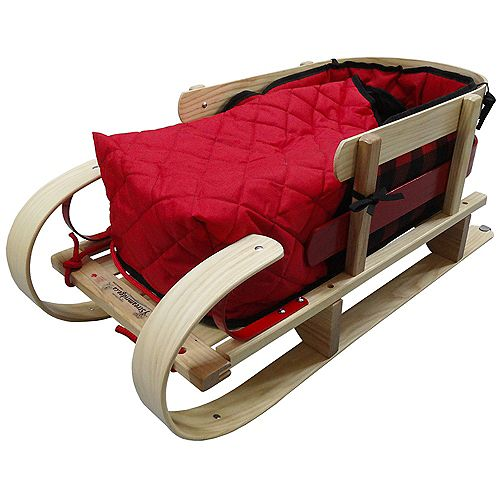 Grizzly Kinder Sleigh w/bootie pad - boxed