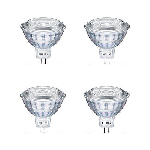 7.5W=50W Soft White  MR16 LED  Light Bulb (4-pack)