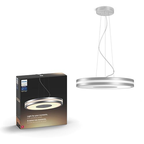 Lampe suspendue intelligente DEL d'ambiance blanche Hue Being de Philips