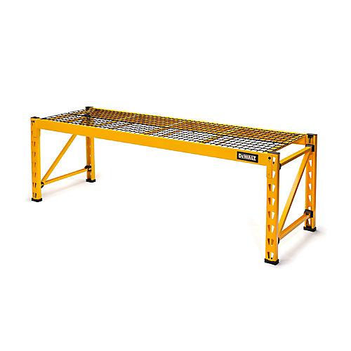Single Shelf Industrial Storage Rack Extension Kit for DeWALT DXST10000