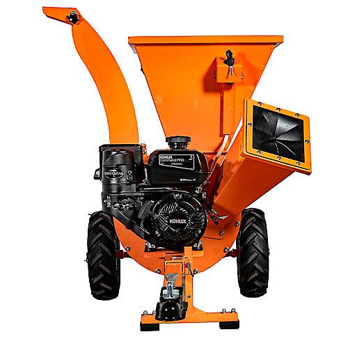 DK2 Power 3 Inch Cyclonic Chipper Shredder Commercial 3YR Warranty Kohler 7HP Engine