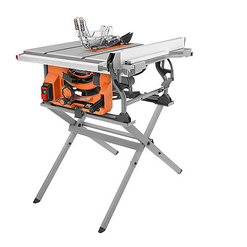 15 Amp 10 -inch Table Saw with Folding Stand