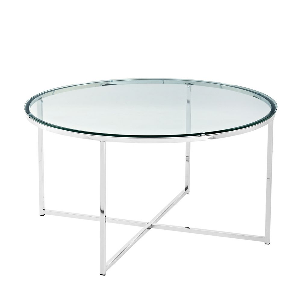 Walker Edison 36 inch Mid Century Modern Coffee Table with ...